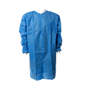 Lab Coat, SMS with Knitted Cuffs/Collar, 3 Pockets (Blue or White)