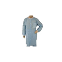 EPIC Spunbonded-Meltblown Polypropylene (SMS) Heavyweight Labcoat, 3 Pockets, Knit Wrists and Collar, Blue